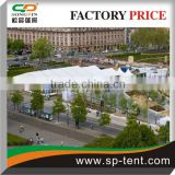 Strong aluminum and High quality PVC material giant Shoulder Tents for sale with entrance pagoda tents 5X5m
