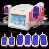 Powerful 200MW lipolaser Slimming Anti-Cellulite laser sculpture machine BL-68