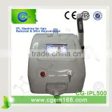 CG-IPL500 money maker for salon,spa and beauty center,hot!!! ipl rf hair removal machine for with Normal Cutting Function
