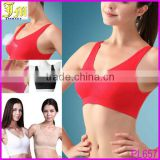 XXXL Hot Sexy Women Seamless Padded Athletic Yoga Running Sports Bra Crop Tank Top Vest Wholesale