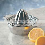 Stainless Steel Lemon Orange Citrus Juicer With Bowl, stainless steel manual juicer,Lemon Squeezer