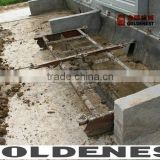 Goldenest bird house saving labour poultry manure removal system scraper cleaning system JCJ14-MC01