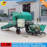 silage baler machine, automatic corn silage baler machine, round bale film wrapping machine