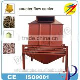 Hot selling professional feed pellet counter-flow cooler for feed plant cooling machinery