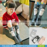Lovely Totoro cartoon baby long socks high quality baby girls tube sock