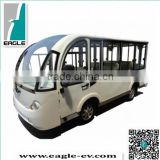 Electric shuttle bus with aluminum hard door, 14 seats ,EG6158KF, CE approved, brand new
