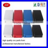 Factory directly electronic cigarette part box mod enclosure oxided aluminium box CNC Milling parts