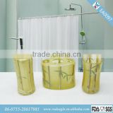 EA0097 bamboo bath accessories/bathroom fittings names/bathroom suites