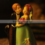 Resin sweet love wedding couple statue