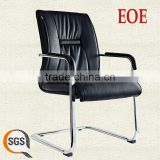 leather office chairs without wheels Top quality pu conference chair