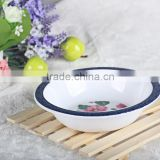 Reusable Food Safe Plastic Cereal Bowl