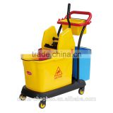 Chinese manufacturer! double mop bucket trolley
