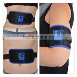 AB Gymnic Front Muscle Arm leg Waist Abdominal Electric Slimming Massage Belt Massage Slim Fit Toning Belt belt Massage