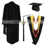 2017 New Sale Unisex Bachelor University Graduation Gown for Student
