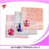 Custom printed handkerchief, 100% cotton lady's printed handkerchief