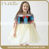 YNF0126 New High Quality Elegant Knee-length Net Flower Girl Dresses For 4 - 14 Years Old