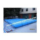 Inflatable water pool with Oxford mobile cover
