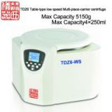 TDZ6WS Table-type low speed Multi-place-carrier centrifuge