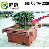 2017 customized outdoor decorative WPC flower box recycle