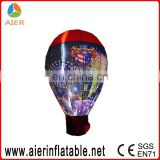 Led ground balloon, inflatable led light ground balloon, inflatable ground balloon