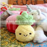 Felt banana, Catoon stuffed animal toy plush vegetables and fruits toy