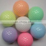 Golf transparent ball