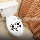Toilet seat wall sticker decals vinyl art wall paper removable bathroom decor DIY
