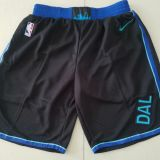 Dallas Mavericks Black Shorts