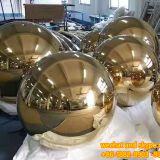 Stainless Steel Garden Sculpture Surface Electroplating Modern Art Stainless Steel Metal Sculpture