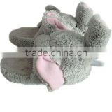 plush elephant slippers for kids.plush animal slippers                                                                         Quality Choice