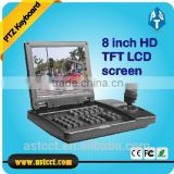 "8"" TFT-LCD 3D PTZ Keyboard Controller Dispaly with Big Scren Monitor for speed dome                                                                         Quality Choice"
