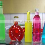 glass water bottle,round glass water bottle,1 liter glass water bottle