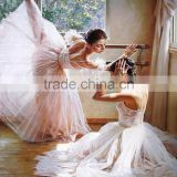 Museum quality cheap ballet dancer oil paintings