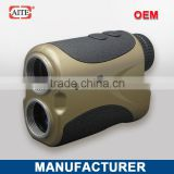 2014 New Style 6*24 600m Laser rangefinder with pinseeking and angle measure function golf cart wheel hub
