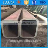 Tianjin square rectangular pipe ! 6 inch water pipe square hollow section weight mild steel tubes