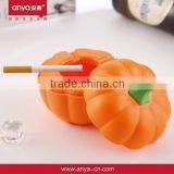 D441 Novel design Pumpkin -Shaped Plastic Melamine Ashtray Promotion Product Ashtray With Standing