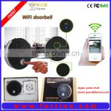Forrinx smart home APP control wifi video doorbell, ip44 waterproof hiden camera doorbell