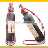 Stylish Line Metal Red Wine Exhibition Wine Rack