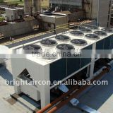 Air-cooled scroll chiller and heat pump, brightaircon