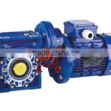 Combined Motor Gear Reduction Gearbox Of Pre-stage Helical Gear & NMRV Motor Reducer