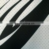 P 900D OXF PRINT PERFORATED PU C/T 260 GSM / Fabric / 100% Polyester Fabric / Sports Wear Fabric