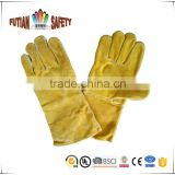 "FTSAFETY 14""kevlar welding gloves with CE certification for anti-heat"
