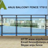 High quality tempered safety glass for balcony rails