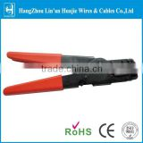 Compression crimping tool for RG59 RG6 water proof connector