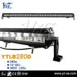 Auto spare parts trending hot products car roof top light bar tube clamp integrated LED light bar
