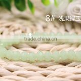 Mint Green 2mm to 12mm AAA Quality Wholesales Price Loose Jade Crystal Facted Roundelles Glass Beads for Jewelry Cheapest
