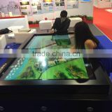 Gaoke display panel,55 inch touch interactive multi touch table,real multi flat panel display