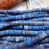 We have A,AA,AAA and Natural lapis Center Drilled Rough Coin Beads , loose semi lapis rough coins