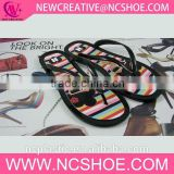 pretty design rubber custom soft sole flip-flops in China