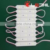 SMD 5050 3pcs LED Module 0.72W IP65 for outdoor channel letter sign board pixel led module light with 5 years warranty